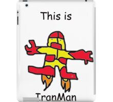 IranMan iPad Case/Skin