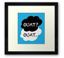 OUAT? TFIOS Framed Print