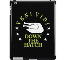 Veni Vidi Down the Hatch VRS2 iPad Case/Skin
