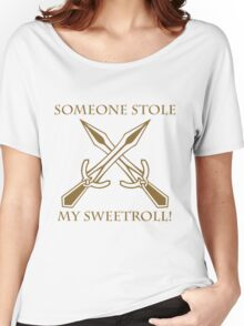 Riften - Someone Stole My Sweetroll! Women's Relaxed Fit T-Shirt