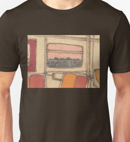 subway seats Unisex T-Shirt