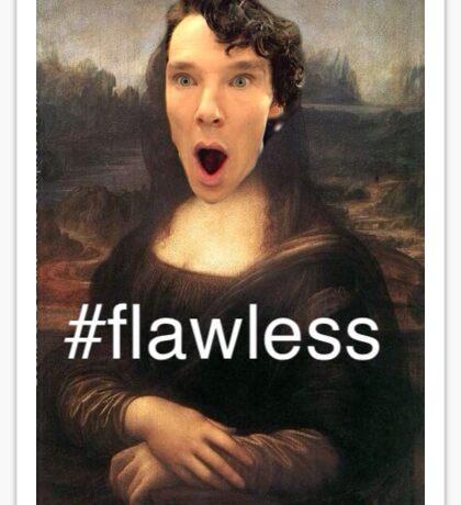 Sherlock Mona Lisa Sticker