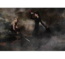 Swan Queen - Conquers of the Heart Photographic Print