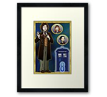 Timelord Conscientious Framed Print
