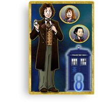 Timelord Conscientious Canvas Print