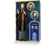 Timelord Conscientious Greeting Card