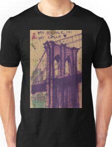 brooklyn bridge in my color Unisex T-Shirt