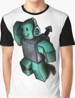 Blue Blox Graphic T-Shirt