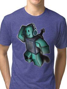 Blue Blox Tri-blend T-Shirt