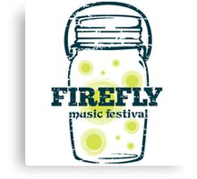 FIREFLY MUSIC FEST Canvas Print