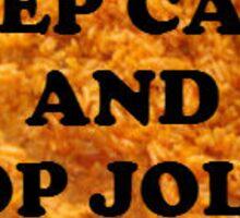 Keep Calm and Chop Jollof Sticker