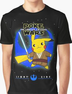 Poke Wars - The Lighting Awakens - Light Version Graphic T-Shirt