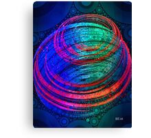 Spin - Abstract Digital Art Canvas Print