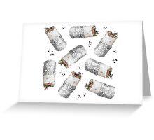 Burritomania! Greeting Card