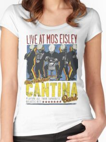 Star Wars - Cantina Band On Tour Women's Fitted Scoop T-Shirt