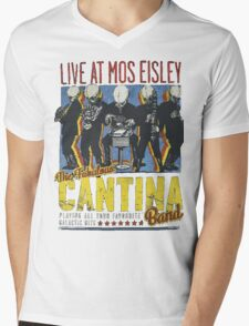 Star Wars - Cantina Band On Tour Mens V-Neck T-Shirt