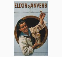 Vintage poster - Elixir d'Anvers One Piece - Long Sleeve