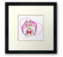 Chibi Moon Framed Print