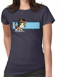 Station Master Tama Womens Fitted T-Shirt