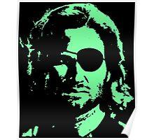 Plissken Portrait (Green) Poster