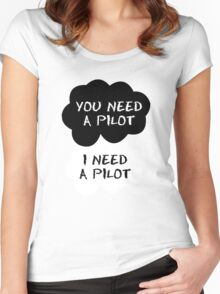 StormPilot - The Fault in Our Star Wars Women's Fitted Scoop T-Shirt