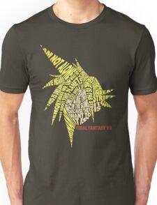 Final Fantasy VII (7) - Cloud Strife - Typography Unisex T-Shirt