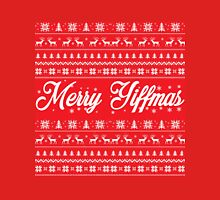 'Merry Yiffmas' Sweater pattern design Classic T-Shirt