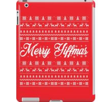 'Merry Yiffmas' Sweater pattern design iPad Case/Skin