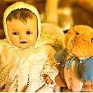 A Visit from Peter Rabbit by wallarooimages