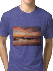 Sandy Reflections Tri-blend T-Shirt