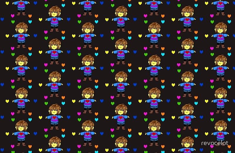 Quot Undertale Hearts Dark Background Quot Laptop Skins By