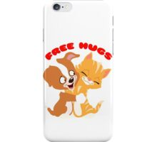 'Free hugs' decal iPhone Case/Skin