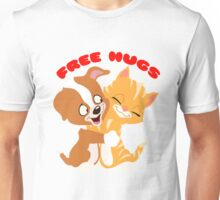 'Free hugs' decal Unisex T-Shirt