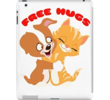 'Free hugs' decal iPad Case/Skin