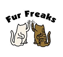 'Fur freaks' decal by Furrnum
