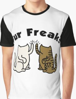 'Fur freaks' decal Graphic T-Shirt