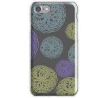 Colorful Twisted Yarn iPhone Case/Skin