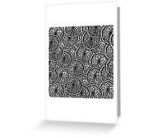 Yarn Patchwork Greeting Card