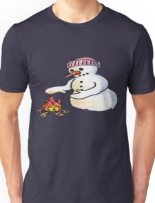 Freezing Snowman Unisex T-Shirt