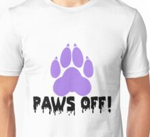 'Paws off' decal Unisex T-Shirt