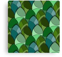 pattern of leaves  Canvas Print