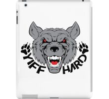 'Yiff hard' decal iPad Case/Skin