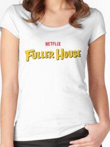Full Fuller House Comedy Women's Fitted Scoop T-Shirt