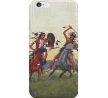 """When Absaroka Meet Blackfeet"" by M. Rabago iPhone Case/Skin"