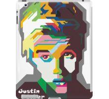 WPAP OF Justin iPad Case/Skin