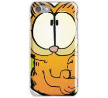 Wondering Garfield iPhone Case/Skin