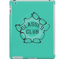 Glasses Club iPad Case/Skin