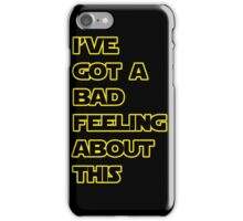 Star Wars Quote  iPhone Case/Skin
