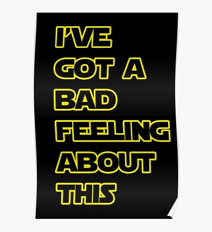 Star Wars Quote  Poster