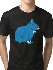 Sir Capybara (Sir Critter) Tri-blend T-Shirt